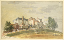 On Shooter's Hill, near Woolwich, 1826